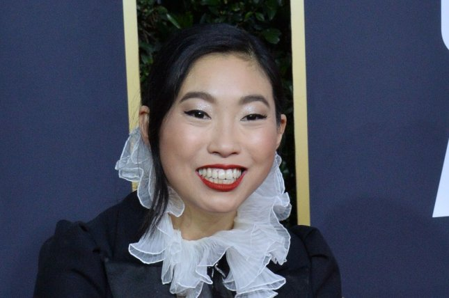 Awkwafina has been nominated for the 2020 BAFTA Rising Star award, along with Kaitlyn Dever. Photo by Jim Ruymen/UPI