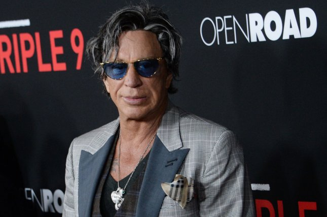 Mickey Rourke quit Season 4 of The Masked Singer Wednesday night. File Photo by Jim Ruymen/UPI