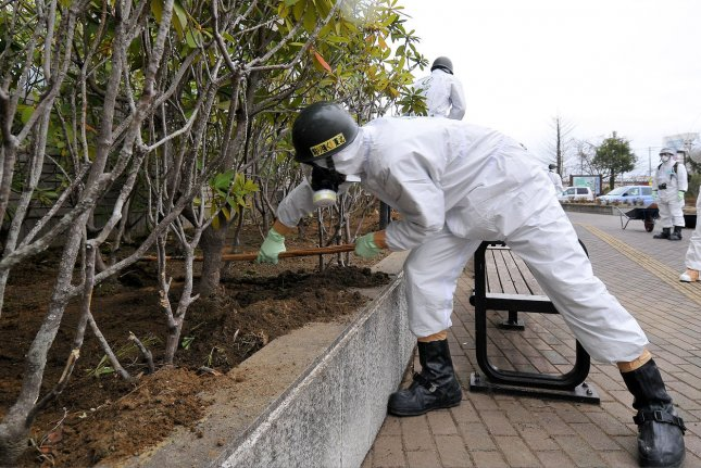 Researchers in Japan are looking into ways to protect plants from irradiated soils. File Photo by UPI/Keizo Mori