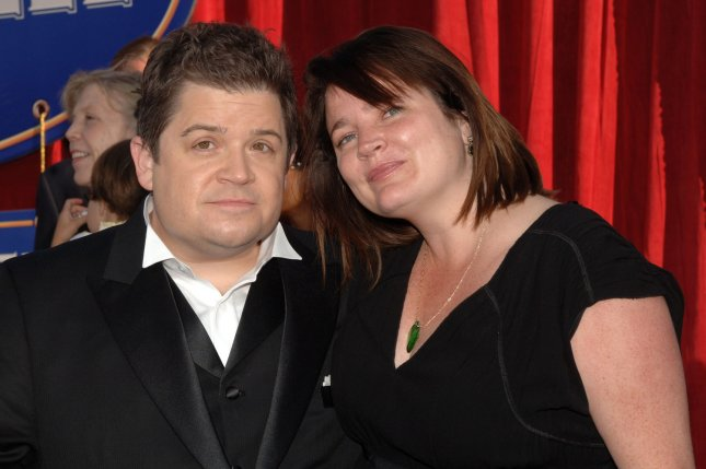 Actor Patton Oswalt, the voice of Remy in the Pixar animated motion picture Ratatouille, attends the premiere of the film with his wife Michelle McNamara in Los Angeles on June 22, 2007. File photo by Jim Ruymen/UPI