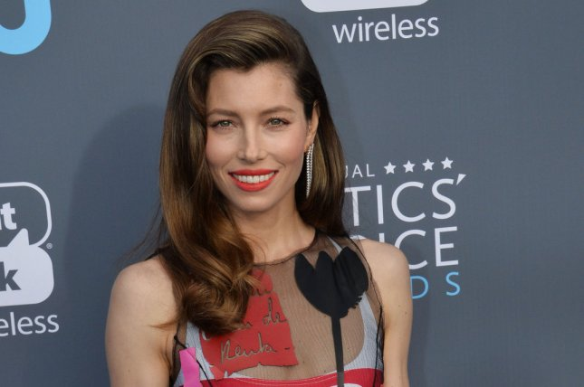 Jessica Biel attends the 23rd annual Critics' Choice Awards at Barker Hanger in Santa Monica, Calif., on January 11. The actor turns 36 on March 3. File Photo by Jim Ruymen/UPI