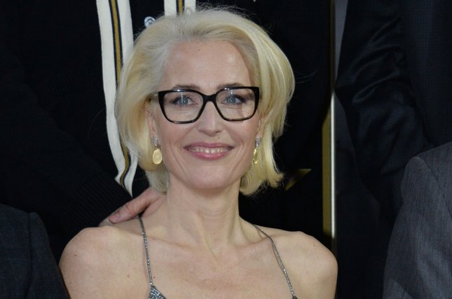 Gillian Anderson will reportedly portray Margaret Thatcher in Season 4 of The Crown. File Photo by Jim Ruymen/UPI