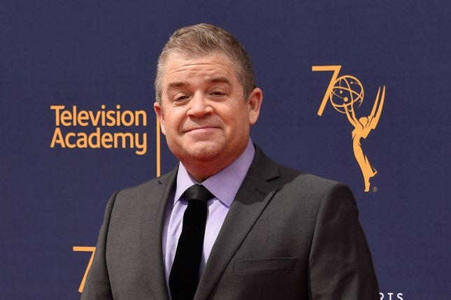 Patton Oswalt attends the Creative Arts Emmy Awards at the Microsoft Theater in Los Angeles on September 9. The comedian turns 50 on January 27. File Photo by Gregg DeGuire/UPI