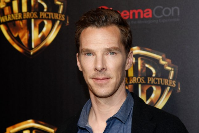Benedict Cumberbatch arrives for the CinemaCon 2018 Warner Bros. studio presentation at Caesars Palace in Las Vegas on April 24, 2018. The actor turns 44 on July 19. File Photo by James Atoa/UPI