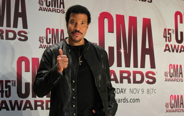 Lionel Richie poses for photographers back stage at the 45th Annual Country Music Association Awards at the Bridgestone Arena in Nashville, Tennessee on November 9, 2011. UPI/Terry Wyatt
