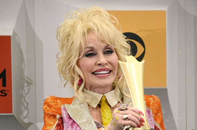 Dolly Parton at the Academy of Country Music Awards on April 3. The singer and Carl Dean married in May 1966. File Photo by Jim Ruymen/UPI
