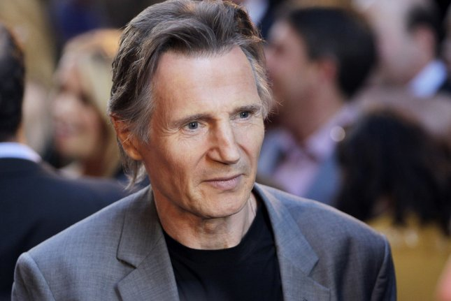 Liam Neeson arrives on the red carpet at the New York Premiere of Ted 2 on June 24, 2015. Neeson portrays whistleblower Mark Felt in the newest trailer for Mark Felt: The Man Who Brought Down the White House. File Photo by John Angelillo/UPI