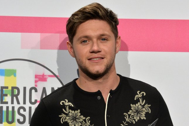 Niall Horan attends the American Music Awards on November 19, 2017. File Photo by Jim Ruymen/UPI