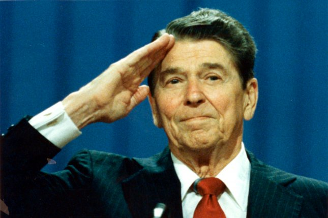 If Ronald Reagan, once a conservative icon, were to run in the primary today, he would fail miserably. UPI File Photo
