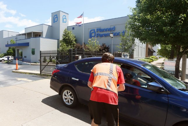 Missouri's last Planned Parenthood and the only clinic that performs abortions in the state will stay open, for now, a judge ruled. Photo by Bill Greenblatt/UPI