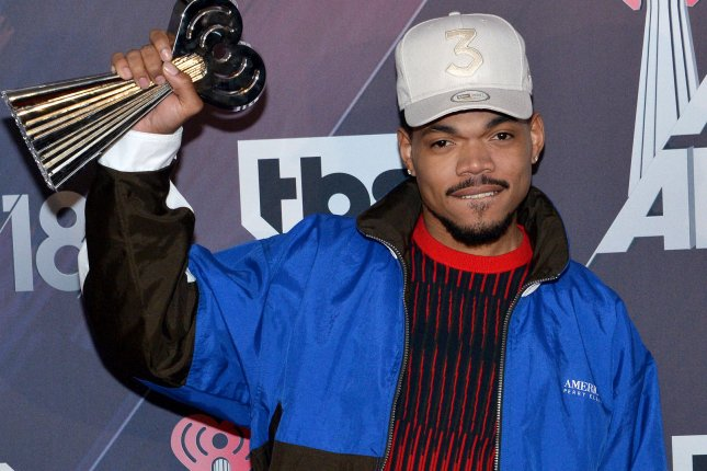 Hip-hop artist Chance the Rapper's The Big Day made the Top 10 of this week's Billboard 200 album chart. File Photo by Jim Ruymen/UPI