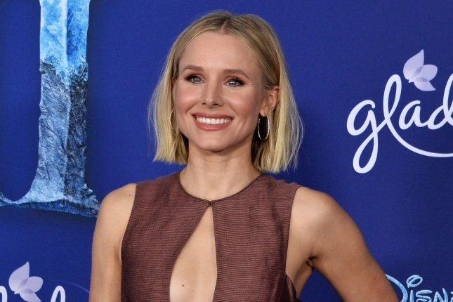 Kristen Bell will compete alongside Nick Jonas on a special edition of Hollywood Game Night hosted by Jane Lynch. File Photo by Jim Ruymen/UPI