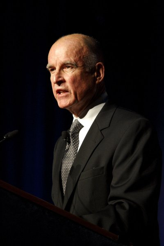 California Gov. Jerry Brown. (Jan. 3, 2011, file photo.) UPI/Ken James