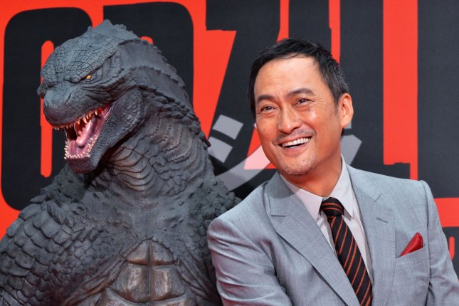 Japanese actor Ken Watanabe attends the premiere of Godzilla in Tokyo on July 10, 2014. Photo by Keizo Mori/UPI A sequel to the blockbuster is set for release in 2018.