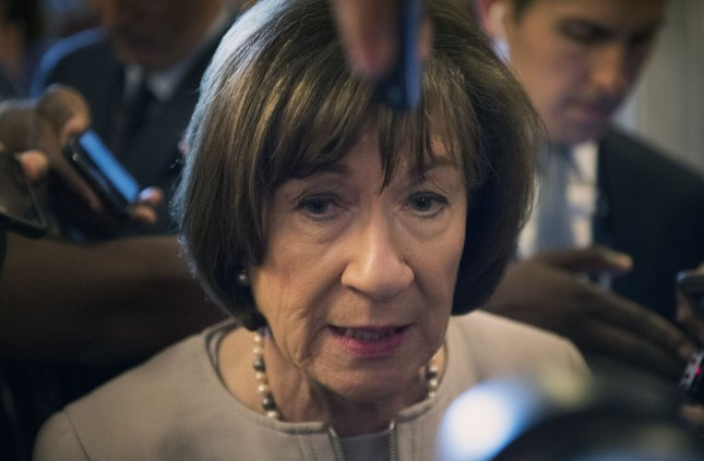 Sen. Susan Collins said Sunday she doesn't believe Brett Kavanaugh sexually assaulted Supreme Court Justice Brett Kavanaugh, but that she does believe she was assaulted. Photo by Kevin Dietsch/UPI