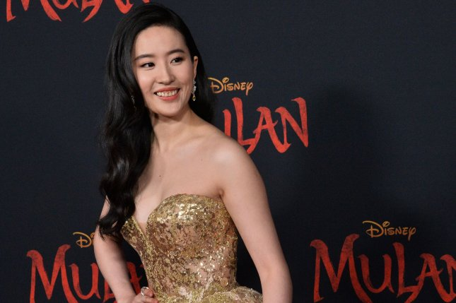 Yifei Liu's Mulan will now open Aug. 21 instead of July 24. File Photo by Jim Ruymen/UPI
