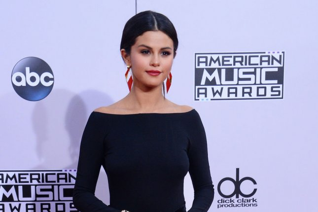 Singer and actress Selena Gomez has inked a new record deal with Interscope. Gomez is shown on November 23, 2014. UPI/Jim Ruymen