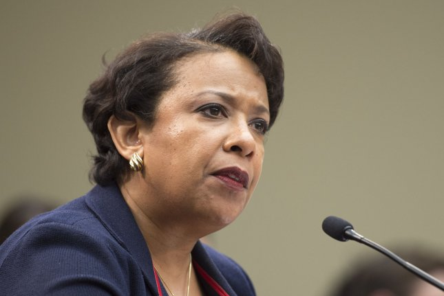 Attorney General Loretta Lynch announced plans to send federal mediators to mitigate violence at protests over the Dakota Access Pipeline ahead of the deadline for protesters to exit the area. She expressed a commitment to maintaining peaceful protests and keeping an open dialogue between law enforcement, tribal leaders and protesters. Photo by Kevin Dietsch/UPI