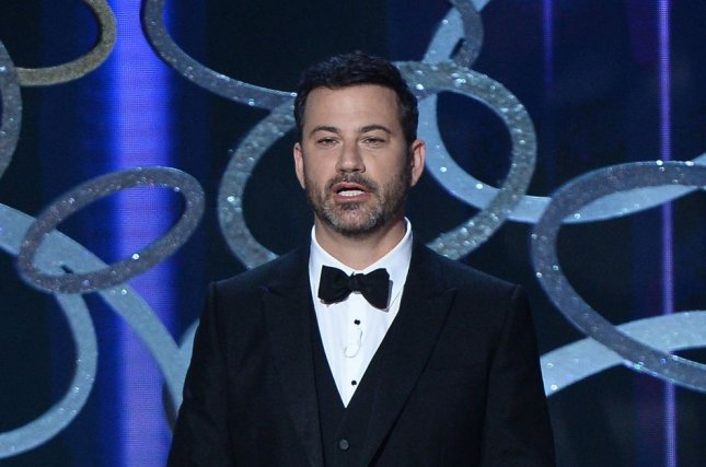 Host Jimmy Kimmel speaks onstage during the 68th annual Primetime Emmy Awards on September 18. He will host the 2017 Oscars. File Photo by Jim Ruymen/UPI