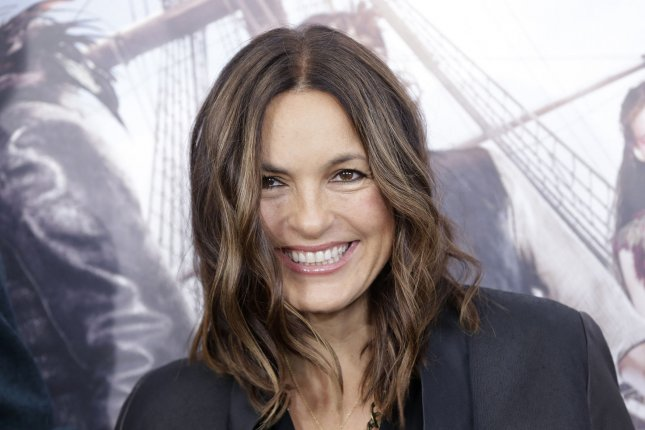 Mariska Hargitay was a guest on the inaugural Law & Order: SVU Podcast on Thursday night. File Photo by John Angelillo/UPI