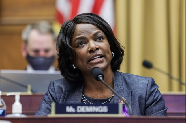 Rep. Val Demings, D-Fla., speaks during a hearing of the House judiciary subcommittee on antitrust, commercial and administrative law at the U.S. Capitol in Washington, D.C., on July 29, 2020. File Photo by Graeme Jennings/UPI