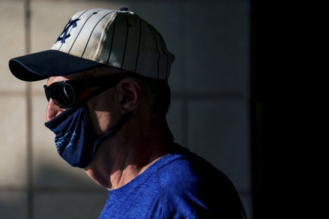 Nanofiber face masks are effective at preventing spread of COVID-19, but researchers say they should be replaced regularly. File Photo by Kyle Rivas/UPI