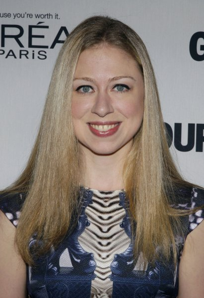 Chelsea Clinton arrives on the red carpet for the 22nd annual Glamour Women of the Year Awards at Carnegie Hall in New York City on November 12, 2012. UPI/John Angelillo