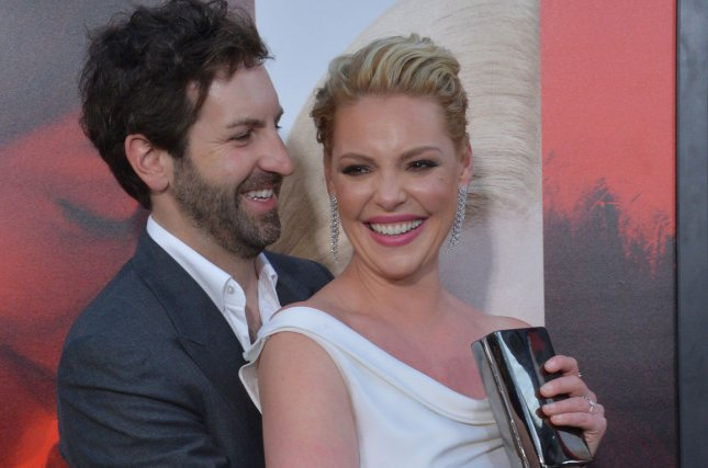 Cast member Katherine Heigl and her husband, singer and songwriter Josh Kelley, attend the premiere of the motion picture dramatic thriller Unforgettable in Los Angeles on April 18. Heigl's TV show Doubt is to wrap up its one and only season this summer. File Photo by Jim Ruymen/UPI