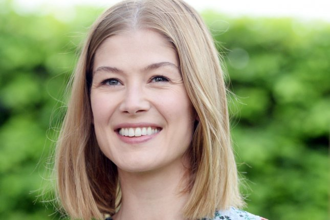 British actress Rosamund Pike is to star in a new comedy series called State of the Union. File Photo by Rune Hellestad/ UPI