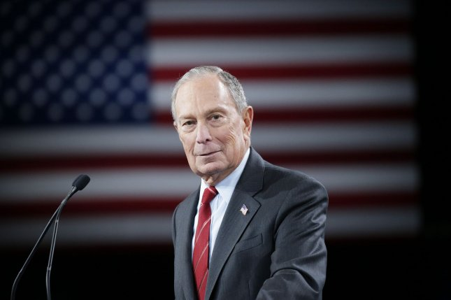 Bloomberg has qualified for the debate with a new poll and the Democratic Party dropping its donor requirement. File Photo by John Angelillo/UPI
