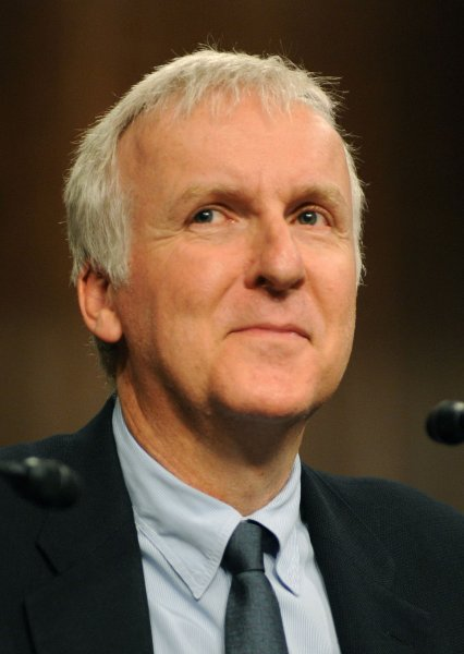 Filmmaker James Cameron participates in a panel discussion on global environmental issue on Capitol Hill in Washington on April 15, 2010. UPI/Kevin Dietsch