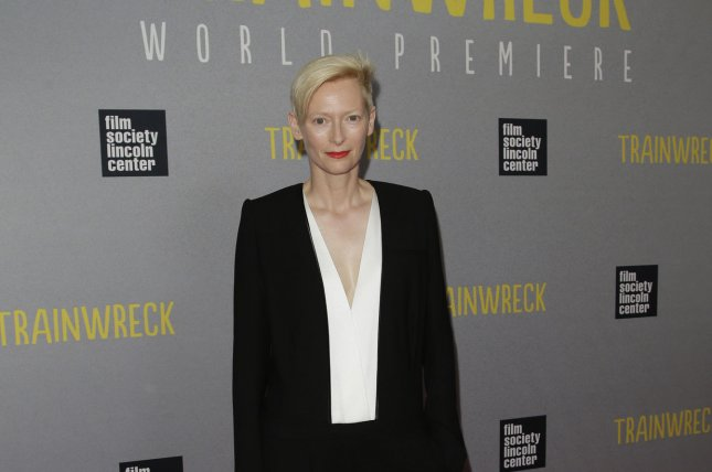 Tilda Swinton arrives on the red carpet at the New York Premiere of 'Trainwreck' at Alice Tully Hall in New York City on July 14. Tilda Swinton has confirmed she will play The Ancient One in the upcoming Marvel film 'Doctor Strange' File Photo by John Angelillo/UPI