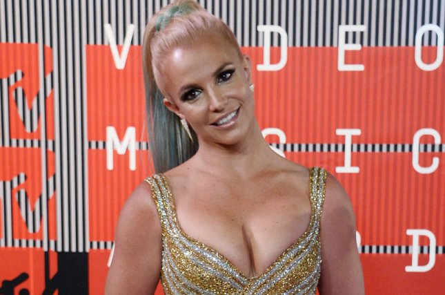 Singer Britney Spears arrives on the red carpet for the 32nd annual MTV Video Music Awards in Los Angeles on August 30, 2015. File Photo by Jim Ruymen/UPI