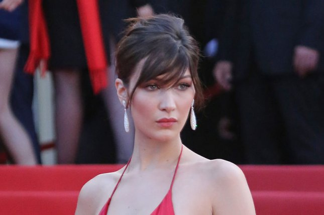 Bella Hadid at the Cannes International Film Festival screening of La fille inconnue on May 18. The model covers the September issue of Vogue Paris. File Photo by David Silpa/UPI