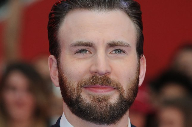 Chris Evans at the London premiere of Captain America: Civil War on April 26, 2016. File Photo by Paul Treadway/UPI