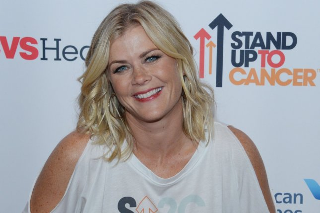 Alison Sweeney attends the Stand Up to Cancer fundraiser on September 9, 2016. File Photo by Jim Ruymen/UPI
