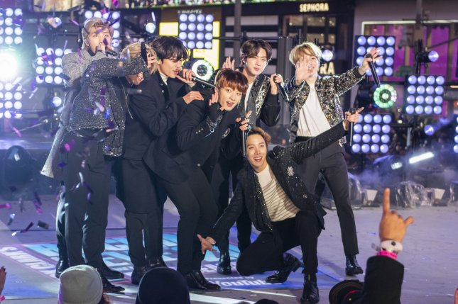 BTS members should be permitted to postpone military service, a South Korean lawmaker said after the group landed the No.1 spot on the Billboard Hot 100 chart. File Photo by Corey Sipkin/UPI