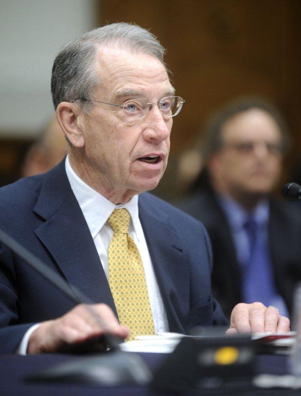 Sen. Charles Grassley, R-Iowa