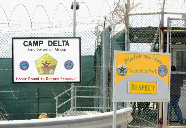 A sign for Camp Delta where detainees are housed is seen at Naval Station Guantanamo Bay in Cuba on July 8, 2010. UPI/Roger L. Wollenberg