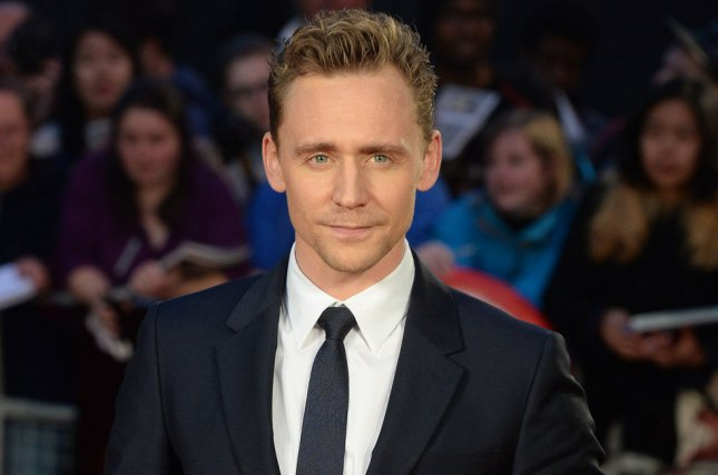 Tom Hiddleston attends a screening for High Rise during the 59th BFI London Film Festival at Odeon, West End in London on October 9, 2015.Hiddleston says that his relationship with singer Taylor Swift is not a publicity stunt. File Photo by Rune Hellestad/UPI