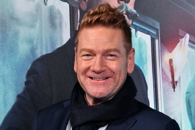 Kenneth Branagh attends the Japan premier for the film Murder on the Orient Express in Tokyo on December 5. The actor turns 58 on December 10. Photo by Keizo Mori/UPI