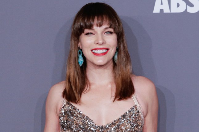 Monster Hunter film star Milla Jovovich. The project will arrive in theaters in September 2020. File Photo by John Angelillo/UPI