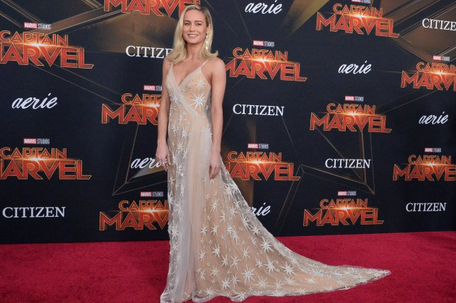 Cast member Brie Larson attends the premiere of Captain Marvel in Los Angeles on Monday. Photo by Jim Ruymen/UPI