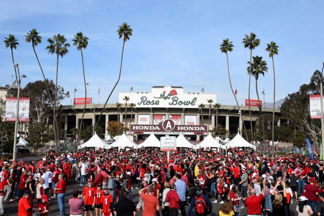 This season's Rose Bowl will take place on New Year's Day in Pasadena, Calif. File Photo by Juan Ocampo/UPI