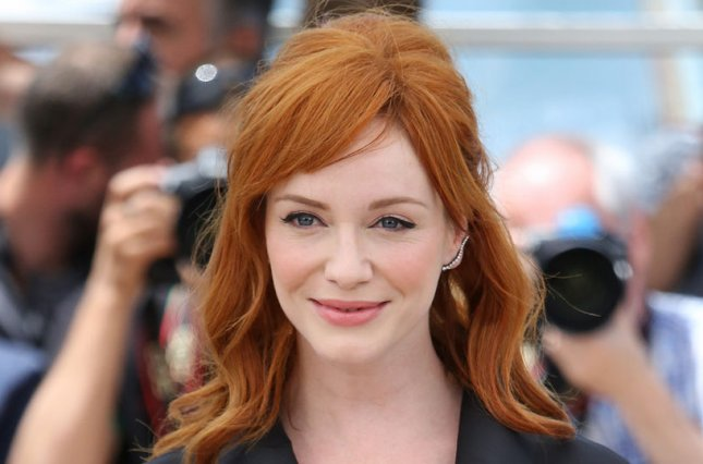Christina Hendricks arrives at a photo call for the film Lost River during the 67th annual Cannes International Film Festival in Cannes, France on May 20, 2014. UPI/David Silpa