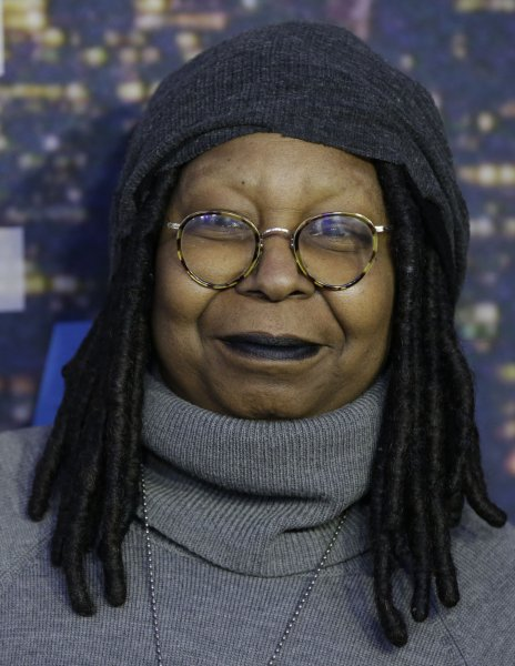 Whoopi Goldberg arrives on the red carpet at the SNL 40th Anniversary Special in New York City on February 15, 2015. File Photo by John Angelillo/UPI