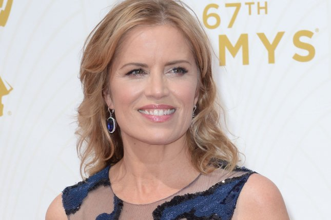 Fear the Walking Dead actress Kim Dickens arrives at the 67th Primetime Emmy Awards in Los Angeles on September 20, 2015. File Photo by Jim Ruymen/UPI