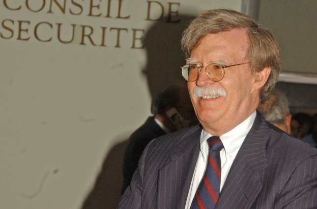 Former U.S. Ambassador to the United Nations John Bolton told South Korean lawmakers this week a pre-emptive strike against North Korea is unlikely under a Trump administration because of the consequences. File Photo by Ezio Petersen/UPI