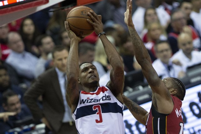 Bradley Beal and the Washington Wizards face the Brooklyn Nets on Friday. Photo by Alex Edelman/UPI