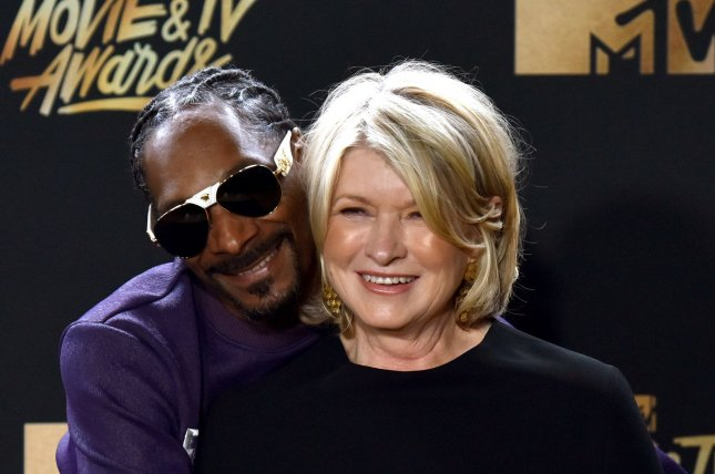Snoop Dogg and Martha Stewart have been friends since 2008. File Photo by Christine Chew/UPI